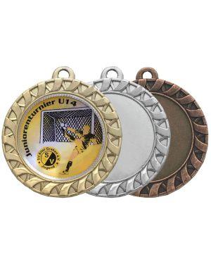 Große Medaille mit Flechtkranz