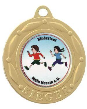 Kleine Medaille dreifach ausgestanzt