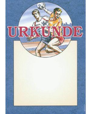 Handball Urkunde