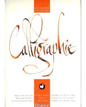 Kalligraphie-Block DIN A4 30 Blatt
