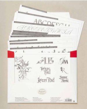 Kalligraphie-Lernbögen