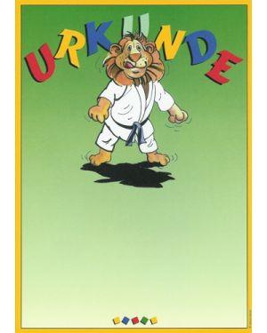 Kinderurkunde Judo
