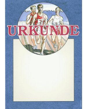 Leichtathletik Urkunde