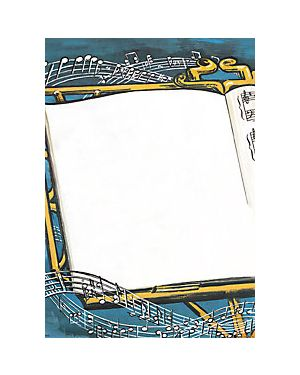 Musikplakat 50x70 cm