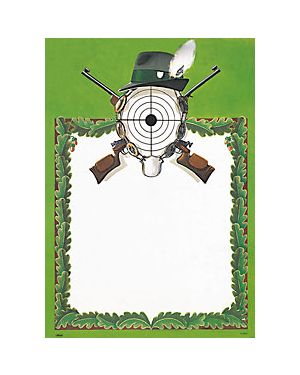 Schützen Plakat 50x70 cm