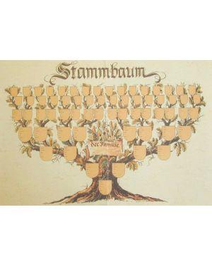 Stammbaum 60 x 42 cm