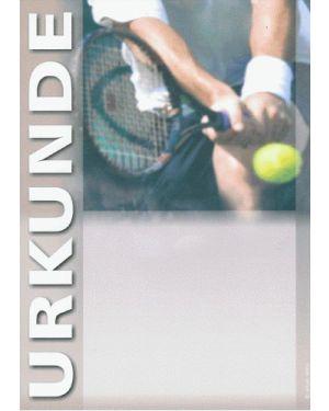 Tennisurkunde
