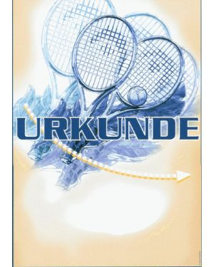 Tennisurkunde G33.2