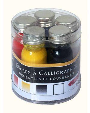Tinte für Kalligraphie, 5x10ml, 5 Farben