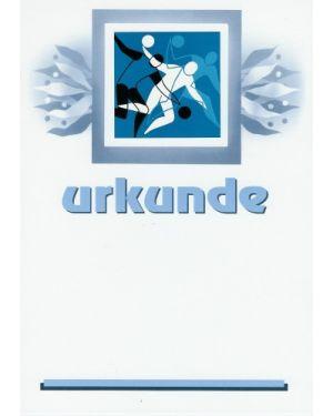 Urkunde Handball
