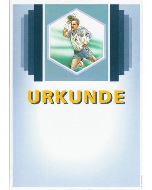 Urkunde Motiv Handball Herren