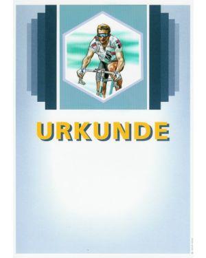 Urkunde Motiv Radsport