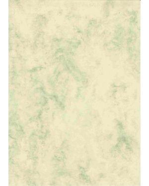 Urkundenkarton, A4, marmor braun