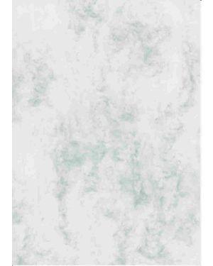 Urkundenkarton, A4, marmor grau