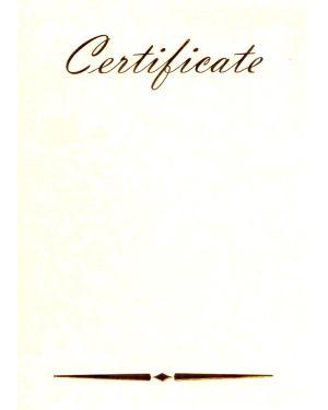 Certificate (auf Pergament) 24x32 cm